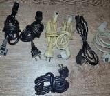 7 x Stück Kaltgerätekabel 130 cm - 180 cm Netzkabel PC,Monitor,etc. - Verden (Aller)