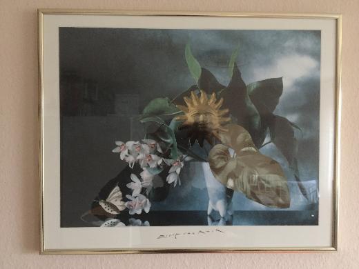 Golden Face von Evert van Kuik 1995 - Kunstdruck in Museumsqualität - Bremen