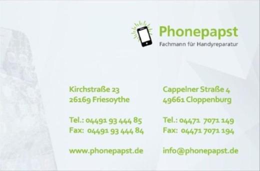 Huawei P20, P20 Lite P10, P9, P9 Lite, Mate 10, P8,  Reparatur - Friesoythe