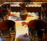 Hübsches Set Weinbecher aus Ton - Rotenburg (Wümme)