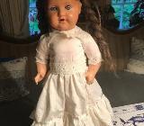 Wunderschöne antike Puppe mit Schlafaugen - Gnarrenburg
