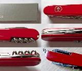 Hochwertiges Marken-Taschenmesser, sehr viele Funktionen, Edelstahl-Teile, neu in OVP - Diepholz