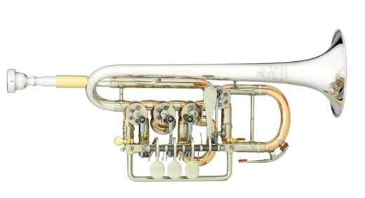 Meister J. Scherzer Piccolo-Trompete / Piccolotrompete - Bremen Mitte