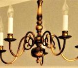 Messingleuchter 5-flammig - Osterholz-Scharmbeck