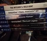 Playstation 4 mit vielen Spielen zu verkaufen - Verden (Aller)