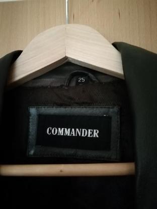 Herren Lederjacke Braun Gr. 25 Commander - Bremen Borgfeld