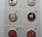 10 DM Silbermünzen PP : 6 Stück : Noch aktuell 15.1.2020 - Achim