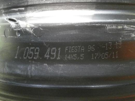 Ford Fiest/Bj,2002 Stahlfelgen - Bremen