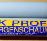 baugelb 2K Profi-Zargenschnellschaum PU-Montageklebeschaum (NEU) - Verden (Aller)