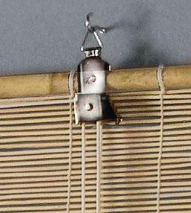 2 x Seitenzugrollos,Lichtschutz,Bambusrollo 90 / 122 cm Breite - Verden (Aller)