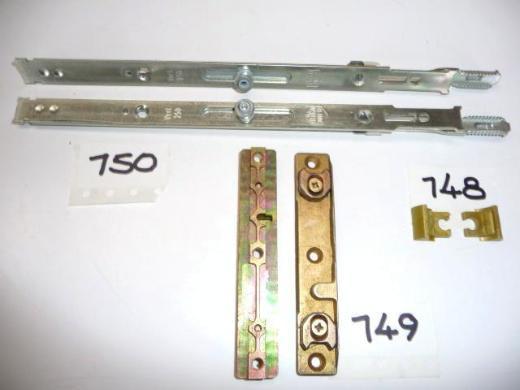 Diverse MACO-Schließbleche+Kantriegel(kurz)+Zahnverbinder+Schnäppermulde - Ritterhude