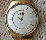 Superflache Marken-Armbanduhr mit Milanaise-Armband, Batterie neu - Getragen! - Diepholz