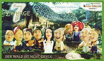 Ü-Eier Ottos 7 Zwerge davon nur 5 Stück Erscheinungsjahr 2006 - Verden (Aller)