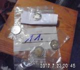 4 Stück 2 Euro Münzen Stempelglanz 11 - Bremen