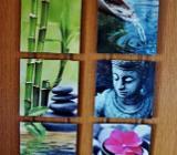 Wanddekoration zum Hängen (3-teilig) - Wilhelmshaven