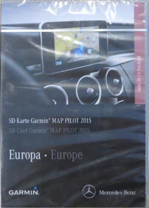 MB Navigation SD Karte Garmin Map Pilot 2015/16 Neu+Versiegelt - Verden (Aller)