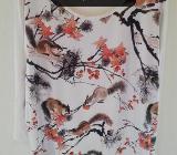 Herbstliches Shirt Gr 50, 3/4 Arm - Tarmstedt
