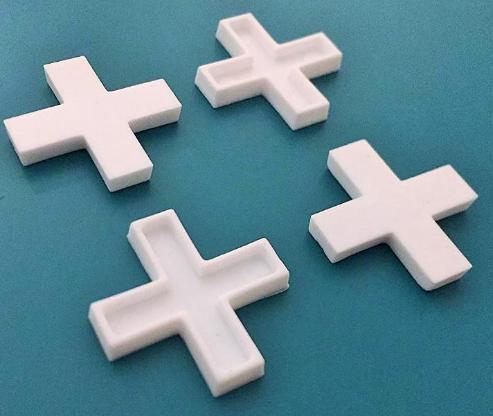 """Faust Fliesenkreuze 8 mm, 200 Stück Packung-Kunststoff Weiß """" NEU """" - Verden (Aller)"""
