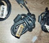 3 x Stück DVI Kabel(1,5-2 m) HDTV Auflösung 2560 x 1080 Digital Single Link - Verden (Aller)