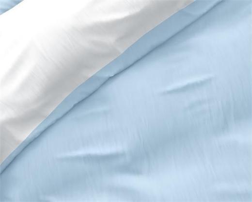 Bettwäsche Twin Face Blue/White 200x220 ReVyt - Friesoythe
