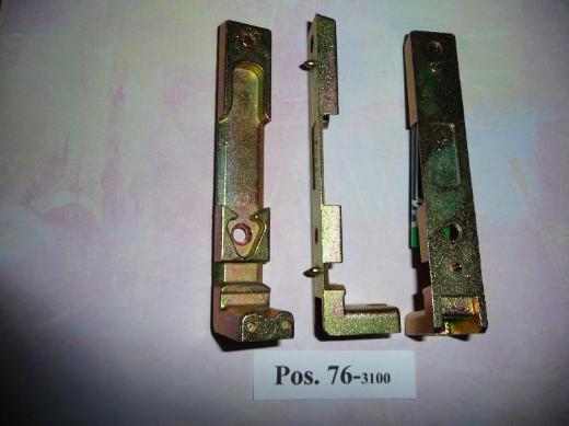 MACO-Kippschließblech mit Auflaufbock,für 11mm Falzluft 3100,gelb chrom.,neu - Ritterhude