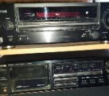 Kenwood KR-A4060 AM-FM Receiver + Tape Deck KX-2520 - Verden (Aller)
