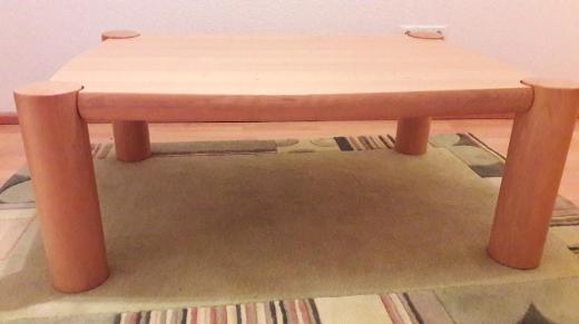 Couchtische Buche massiv, 120x85cm - Stuhr