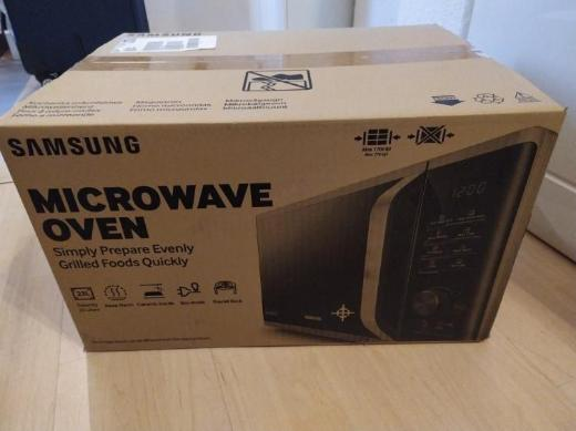 Samsung MW3500 MG23K3515AS Mikrowelle Silber - Syke