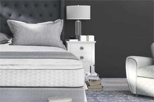 Matratzenauflage 90x210 3D AIR Hotel Mattress Topper White ReVyt - Friesoythe