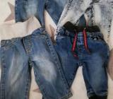 Verschiedene Jeans Gr. 74 TOP - Goldenstedt
