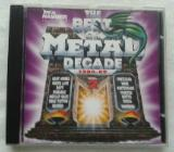 CD THE BEST OF METAL DECADE CD: 1980 - 89/IRON MAIDEN EUROPE SCORPIONS OZZY MANO - Wilhelmshaven