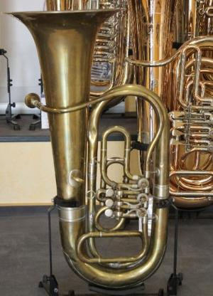 F - Tuba, 3 Zylinderdrehventile, gebraucht