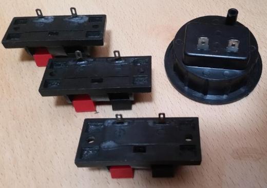 5 x Stück Lautsprecher Klemmanschluss 2 Polig vertikalen Einbau - Verden (Aller)