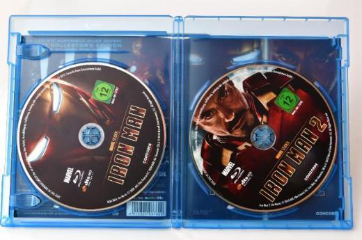 Iron Man 1+2 [Blu-ray] - Emstek