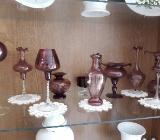 zart-violette Vintage Glasgefäße - Bremen