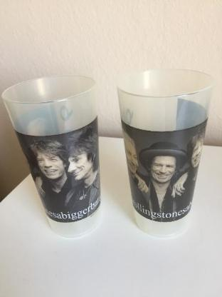 Rolling Stones Becher Cup Bierbecher -Sammelbecher- - Bremen