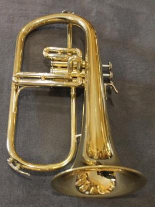 B & S Flügelhorn, Made in Germany, inkl. Koffer und Mundstück - Bremen Mitte