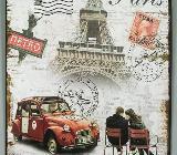 Blechschild Paris - 25x20 cm - Scheeßel