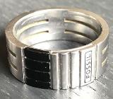 Ring Fossil 26 mm Edelstahl gebürstet - Bremervörde
