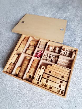 Holzbaukasten - Achim