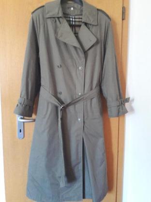 Damen Mantel Trenchcoat