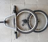 Radsatz 20 Zoll Gangschaltung, ursprünglich für Roller 20 Zoll - Oldenburg (Oldenburg)