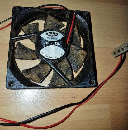 Top Motor DF1208SL 80mm x 25mm12V 0.2A Computer Lüfter Fan 4-Pol - Verden (Aller)