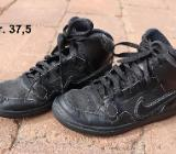 Nike Force Mid /High schwarz Gr. 37,5 - Bremen