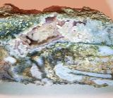 Buntjaspis Chalcedon Rohstück anpoliert zu verkaufen. - Bremen