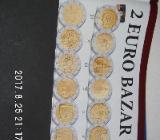 3 Stück 2 Euro Münzen aus drei Ländern Zirkuliert 25 - Bremen