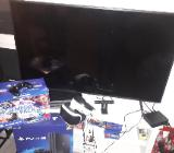 PS 4 mit 12 Spielen VR Brille und TV - Bremen