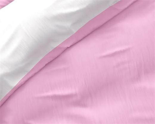 Bettwäsche Twin Face Pink/White 240x220 ReVyt - Friesoythe