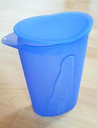 Tupperware Saftkanne, Milchkanne Junge Welle, in blau - Verden (Aller)