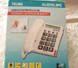 Großtastentelefon Audioline TEL48G – weiß - Bremen